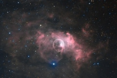 Bubble Nebula HA-RGB