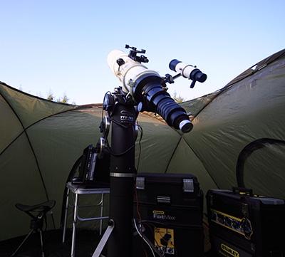 Henning Høst Mount setup