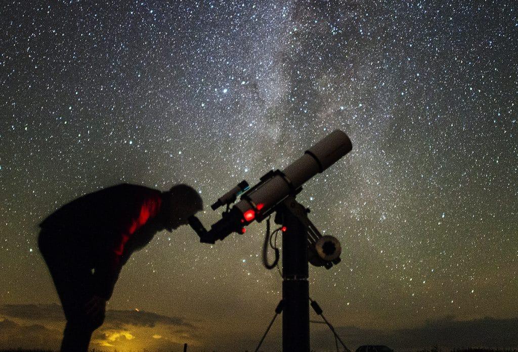 Reiseteleskopmontierung
