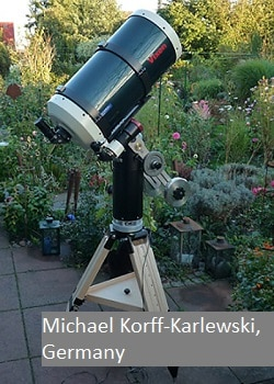 1 - 2 or 3 Telescopes on the same mount - Track The Stars